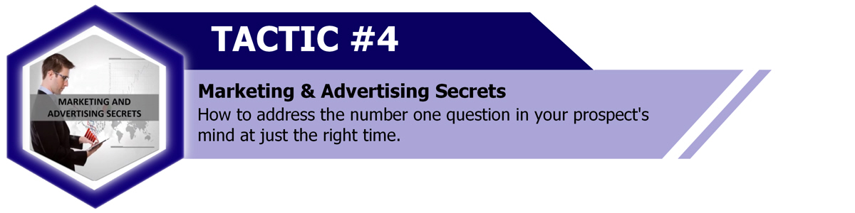 Marketing and advertising secrets